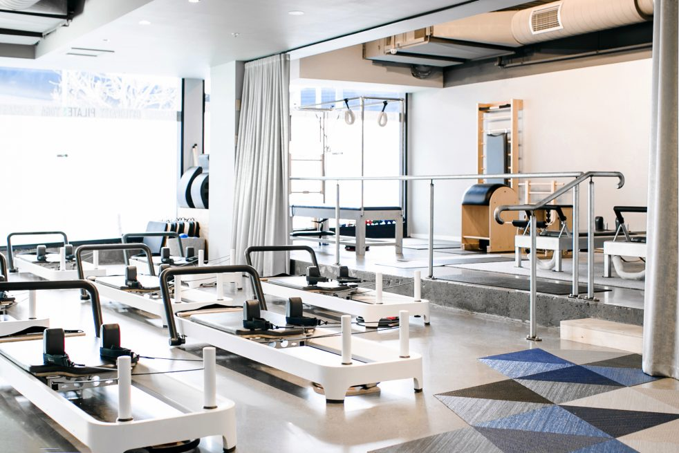 Reformer Pilates Studio with Premium Allegro 2 Reformers